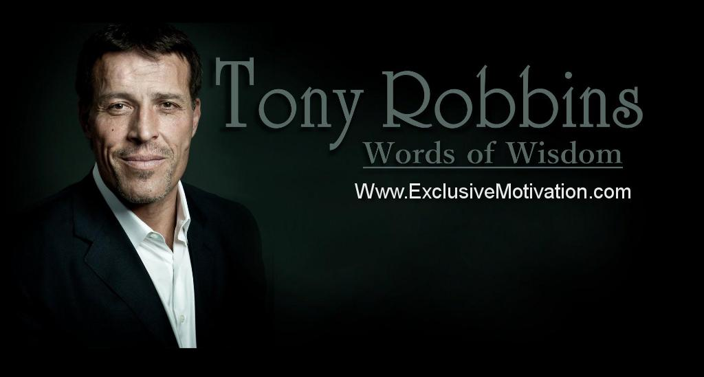 10 Inspirational Tony Robbins Quotes