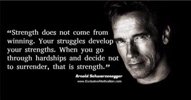 Arnold Schwarzenegger Picture Quotes