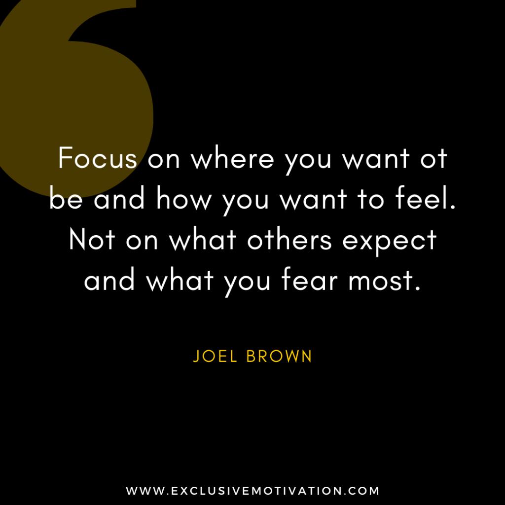 Top Joel Brown Quotes