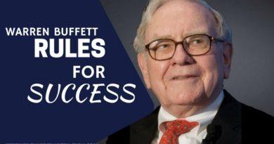 Warren Buffett Rules For Success