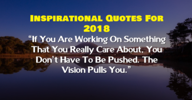 Inspirational Quotes For 2018