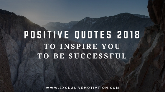 Positive Quotes 2018
