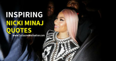 Inspiring Nicki Minaj Quotes
