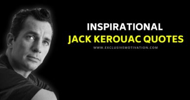 Inspirational Jack Kerouac Quotes
