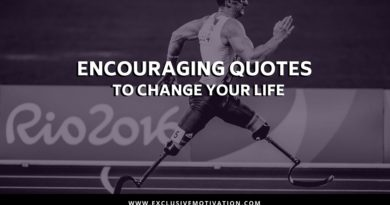 Encouraging Quotes