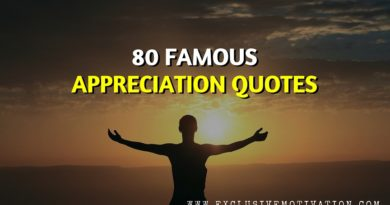 Famous Appreciation Quotes