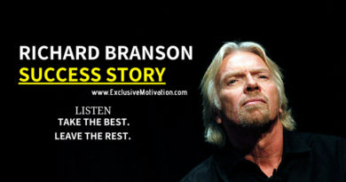 Richard Branson Success Story