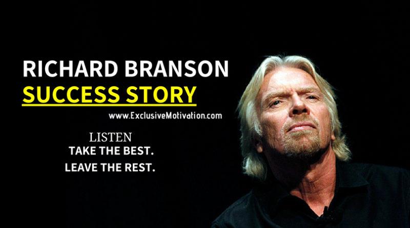 Richard Branson Success Story