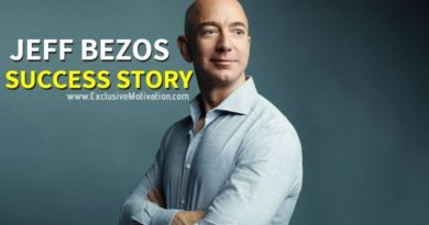 Jeff Bezos Success Story