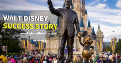 Walt Disney Success Story