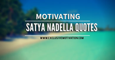 Motivating Satya Nadella Quotes