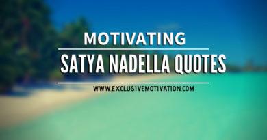 Motivating Satya Nadella Quotes
