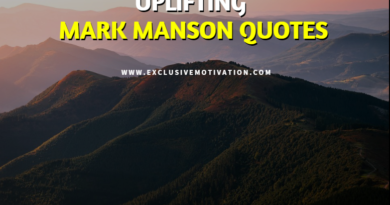 Uplifting Mark Manson Quotes