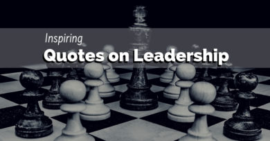 100 Inspiring Quotes on Leadership
