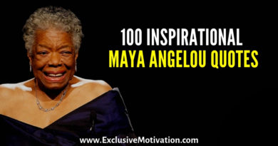 Inspirational Maya Angelou Quotes