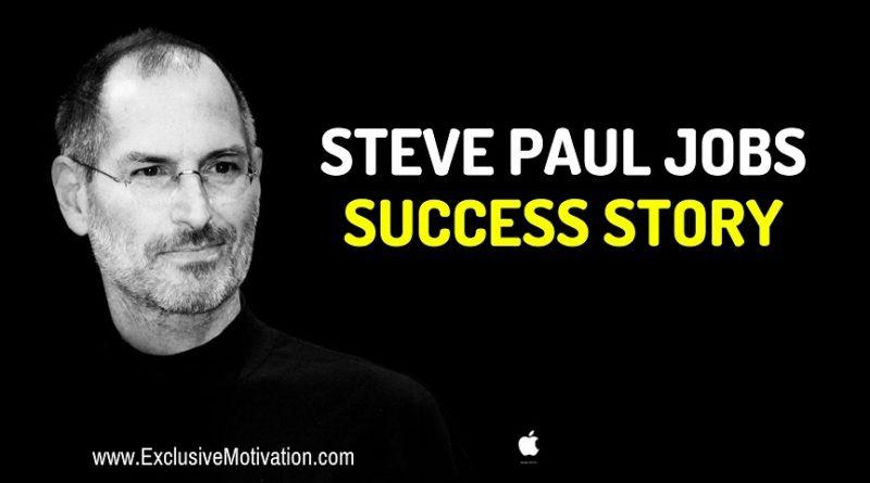 Steve Jobs Success Story
