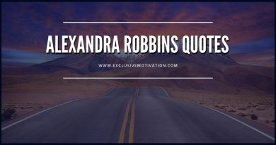 Motivational Alexandra Robbins Quotes