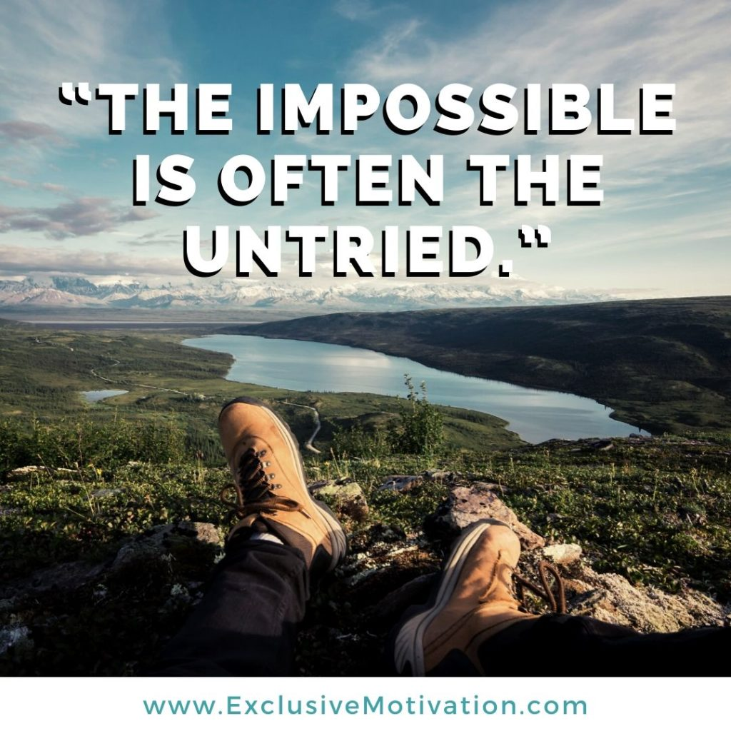 Top Top Believe Quotes on Motivation