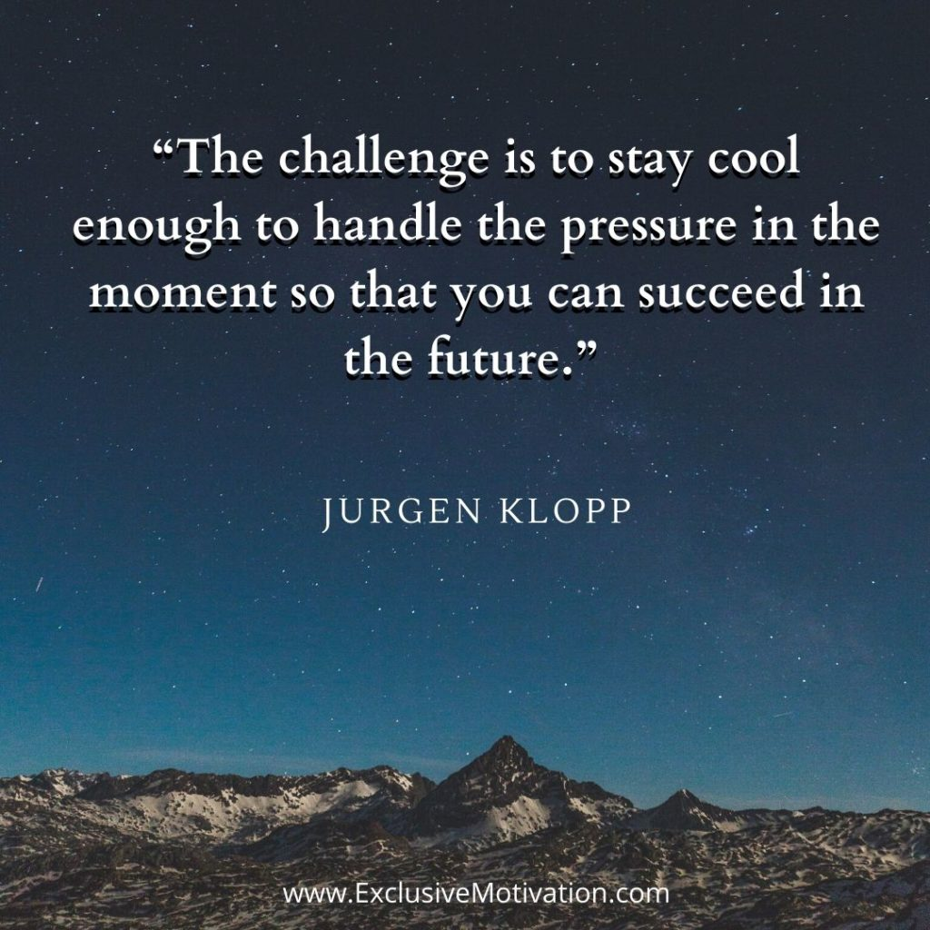 Jurgen Klopp Quotes On Motivation