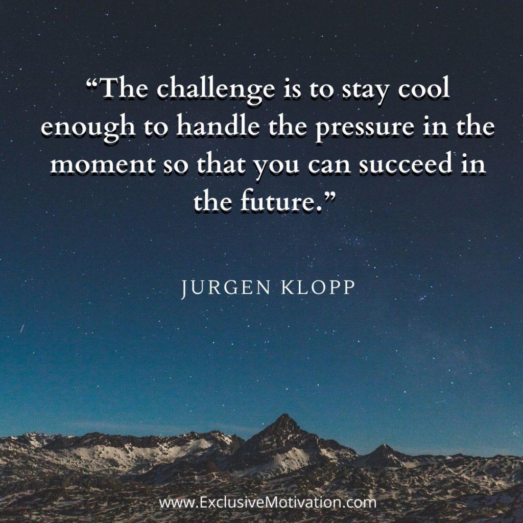 Jurgen Klopp Quotes On Motivation