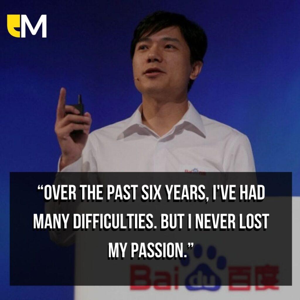 Top Robin Li Quotes