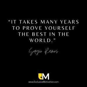 Sergio Ramos Quotes on Motivation