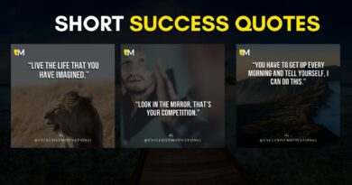 Short success quotes
