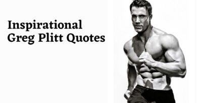 Top Greg Plitt Quotes