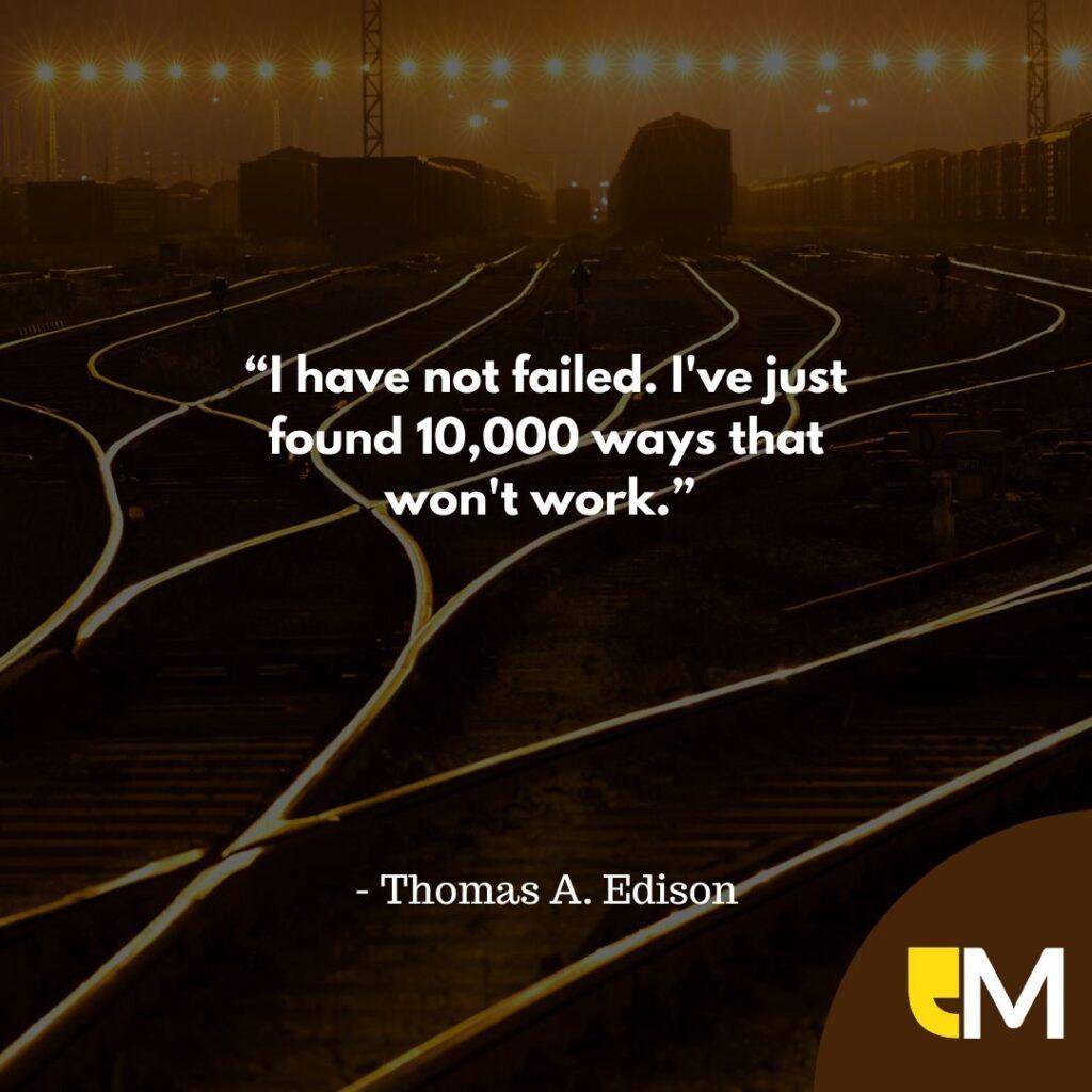 how to overcome failure