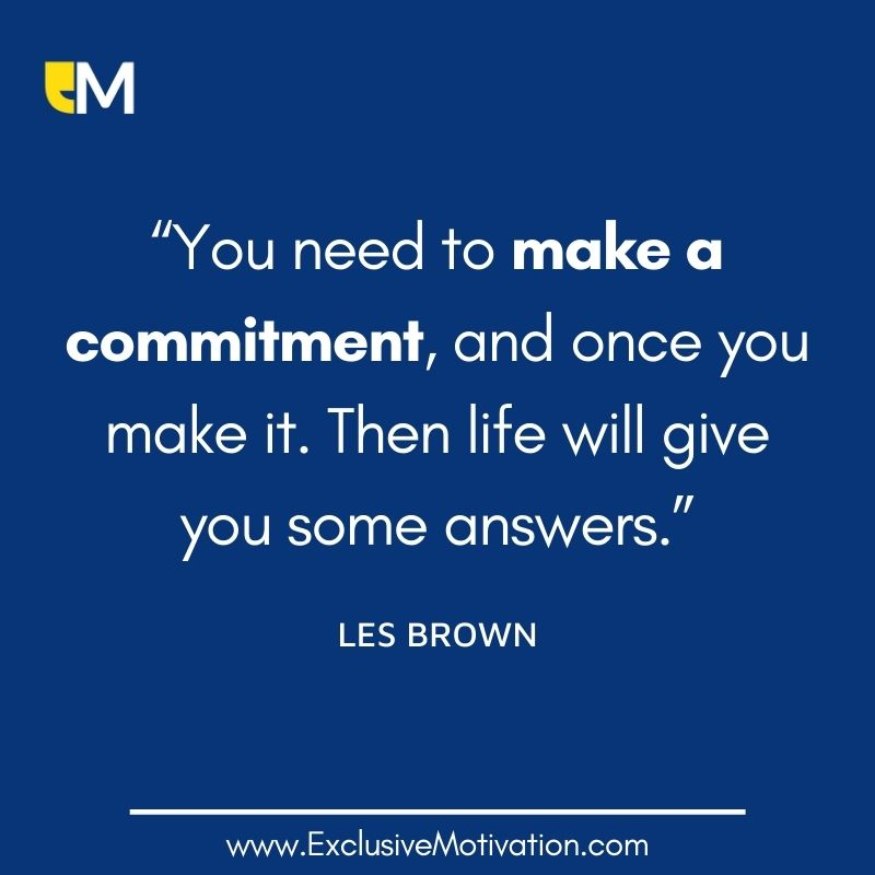 Les Brown Picture Quotes