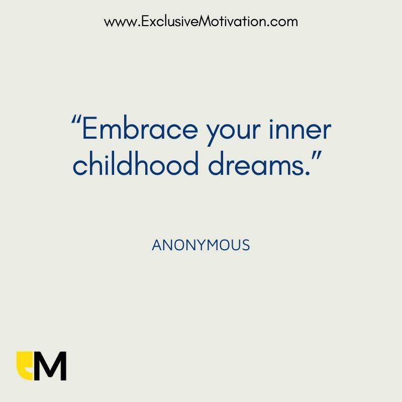 Motivational Short Dreams Quotes