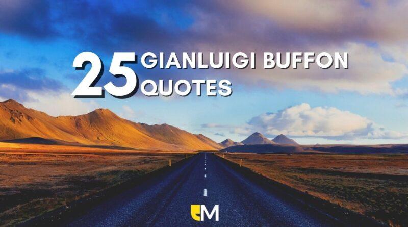 Top Gianluigi Buffon Quotes