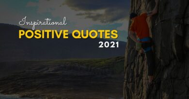 Positive Quotes 2021
