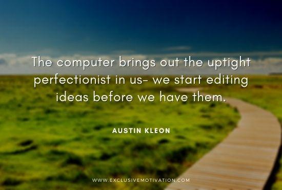 Best Austin Kleon Quotes