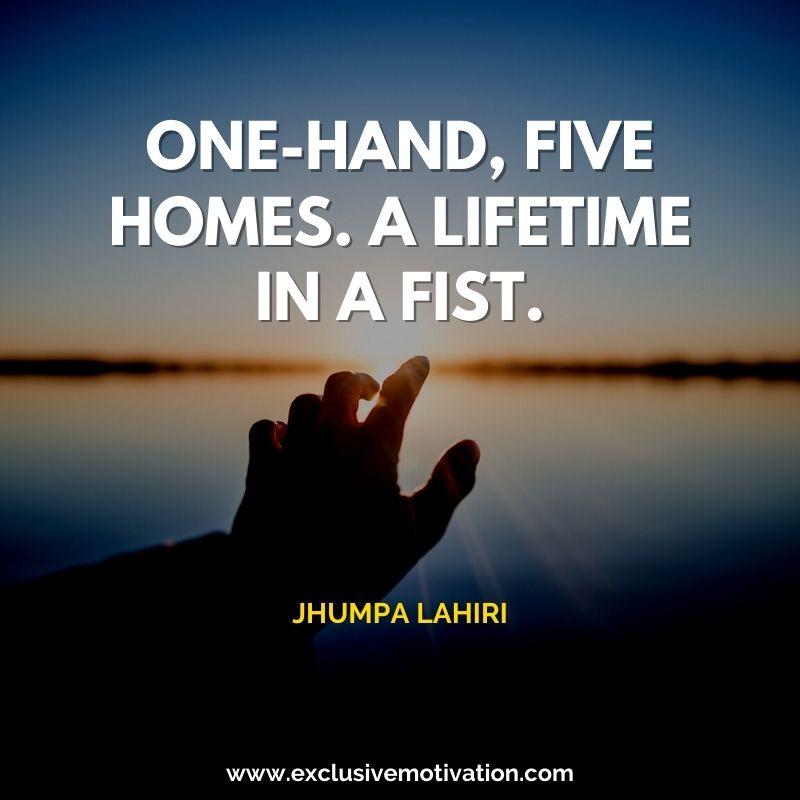 Best Jhumpa Lahiri Quotes