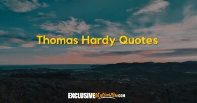 Best Thomas Hardy Quotes