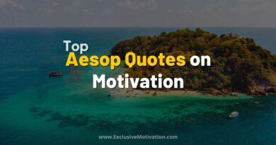 Top Aesop Quotes