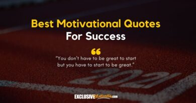 Best Motivational Quotes