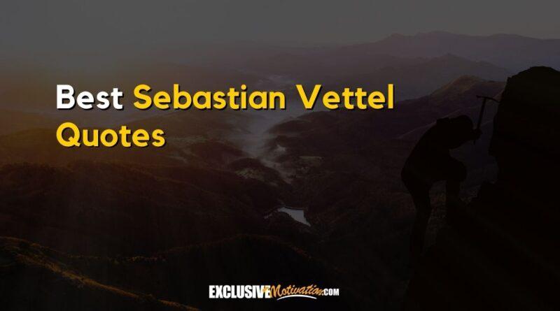 Best Sebastian Vettel Quotes