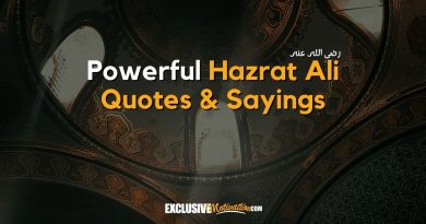 Hazrat Ali Quotes and Sayings