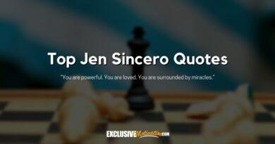 Top Jen Sincero Quotes